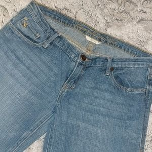 Vintage Abercrombie and Fitch jeans, size 2